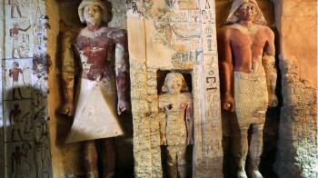4400年前「法老祭司陵墓」曝光!牆面刻滿媽媽名字