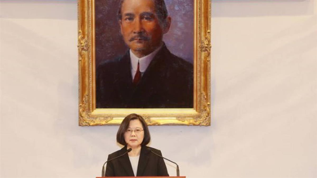 蔡英文:不接受九二共識 堅決反對一國兩制