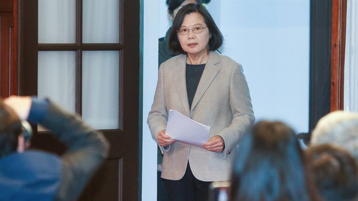 紐時:蔡英文談兩岸  促北京和平處理分歧