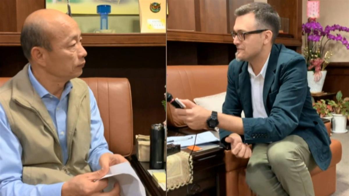ICRT專訪 韓國瑜秀英文:4階段打造港都雙語城市