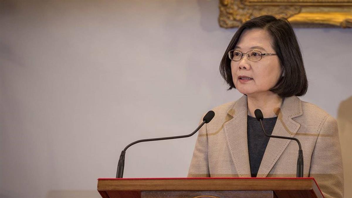 蔡英文談大老公開信:向世界表達台灣人心聲更重要