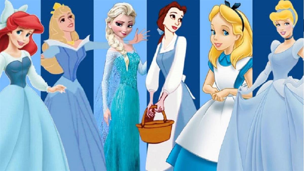 迪士尼不能說的秘密!「公主穿藍裙」真相藏94年首曝光