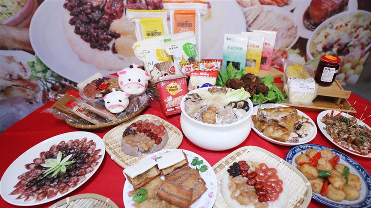 搶年貨商機!南門市場起跑 推農曆春節年菜優惠