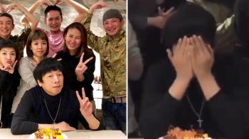 以為沒家人孤單過!曹西平60歲生日…3夫妻「這舉動」逼哭他