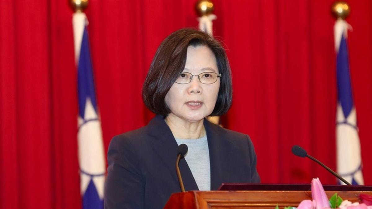 蔡總統:已幫年輕人減稅 5月繳稅會有感