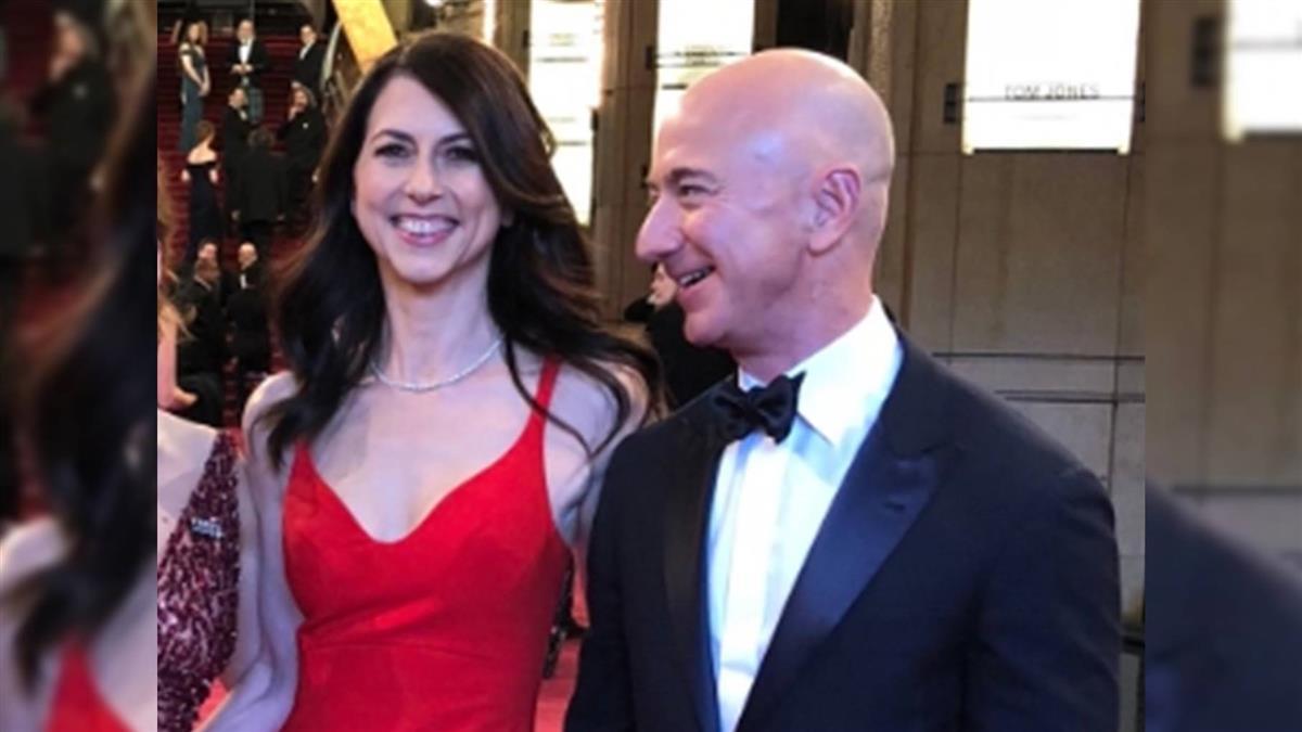 身價4.2兆 全球首富貝佐斯宣布離婚!結束25年婚姻