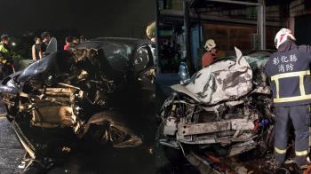 BMW男酒駕狂飆!白車彈飛3米被肢解 女駕駛噴飛慘死