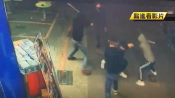 光華商場喋血!4煞開山刀砍1男重傷 警逮3嫌