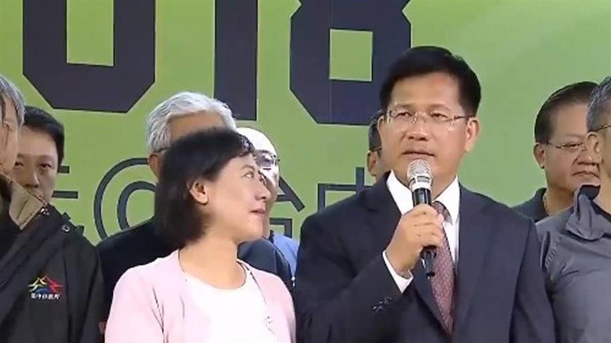 林佳龍傳被徵詢出任交通部長 還未答應