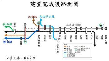 基隆輕軌可行性通過 汐止部分地區高架化