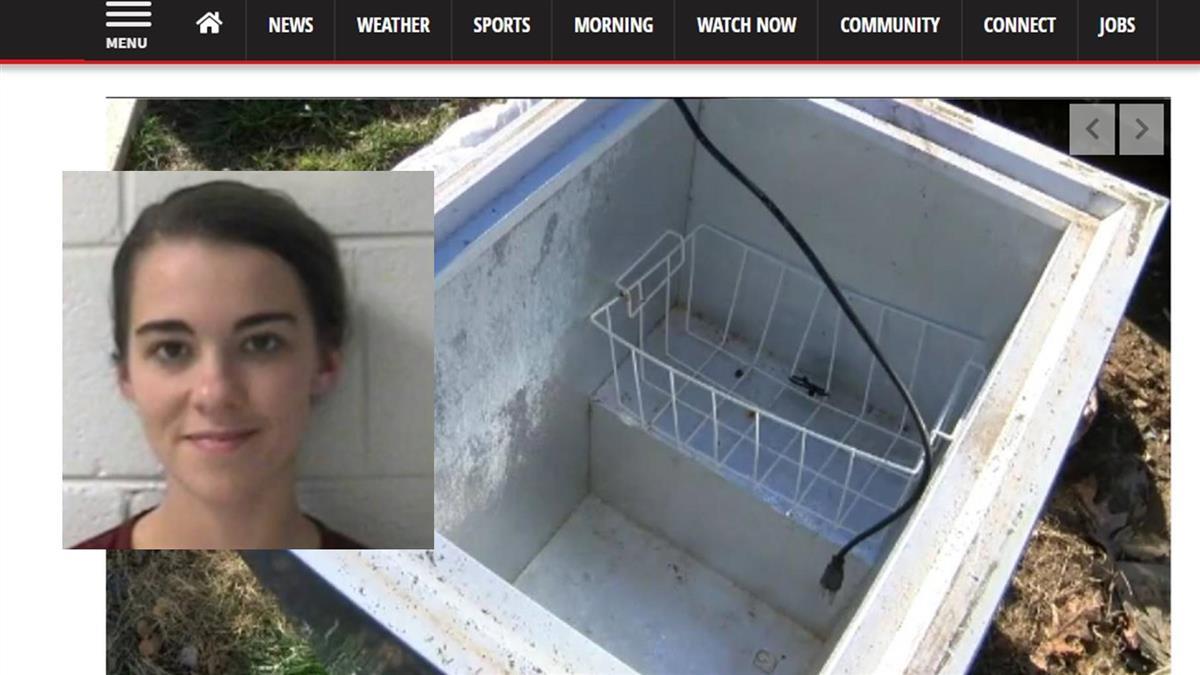 獵奇!將8月大兒放進別人家冰箱 19歲女躲夾層偷窺