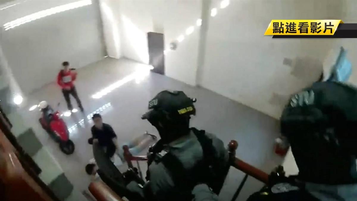 又查獲!加強查緝逃逸移工 台中警在工業區逮4人