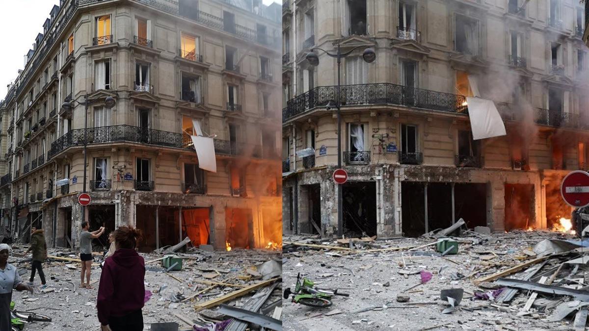 驚!巴黎市區恐怖爆炸 傷亡未明