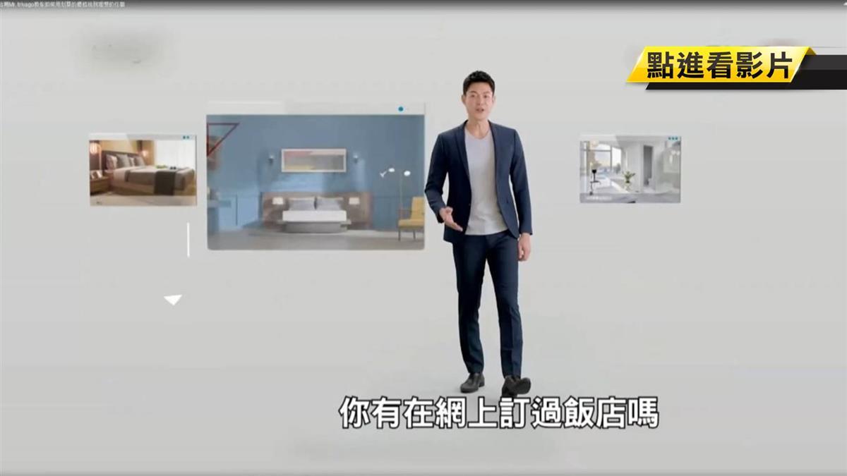 廣告暴紅! 「訂房先生」身分曝健身教練李沛勳