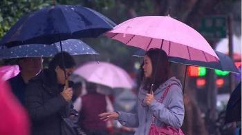 記得帶傘出門!午後東北季風增強 北、東部轉雨降溫