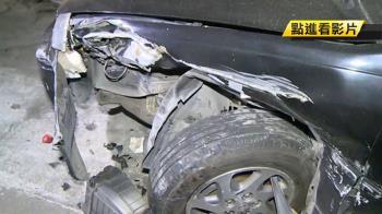 尾牙酒駕遇警假配合 催油門撞進小巷…毀5車