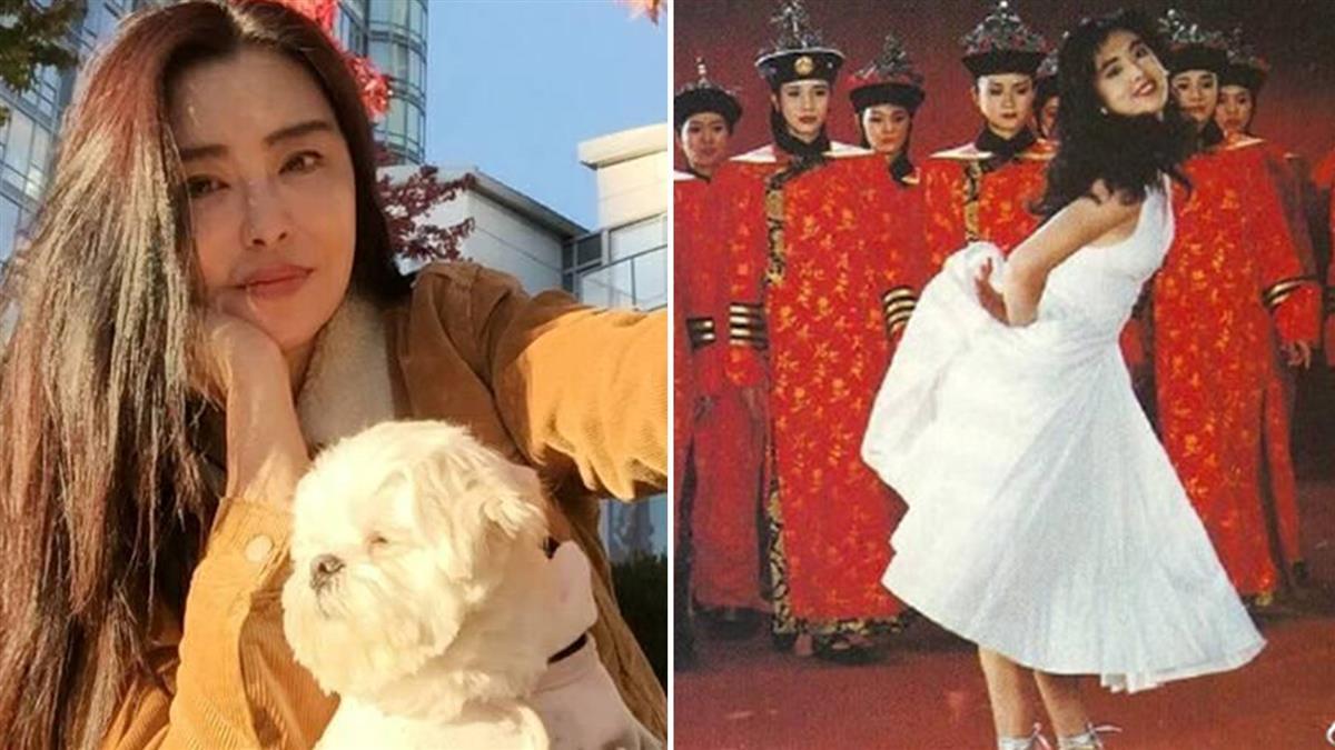 王祖賢29年前豔照曝光!挺翹臀扮夢露…背後宮女竟是「她」
