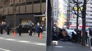 日老翁駕車衝上人行道 東京鬧區7傷