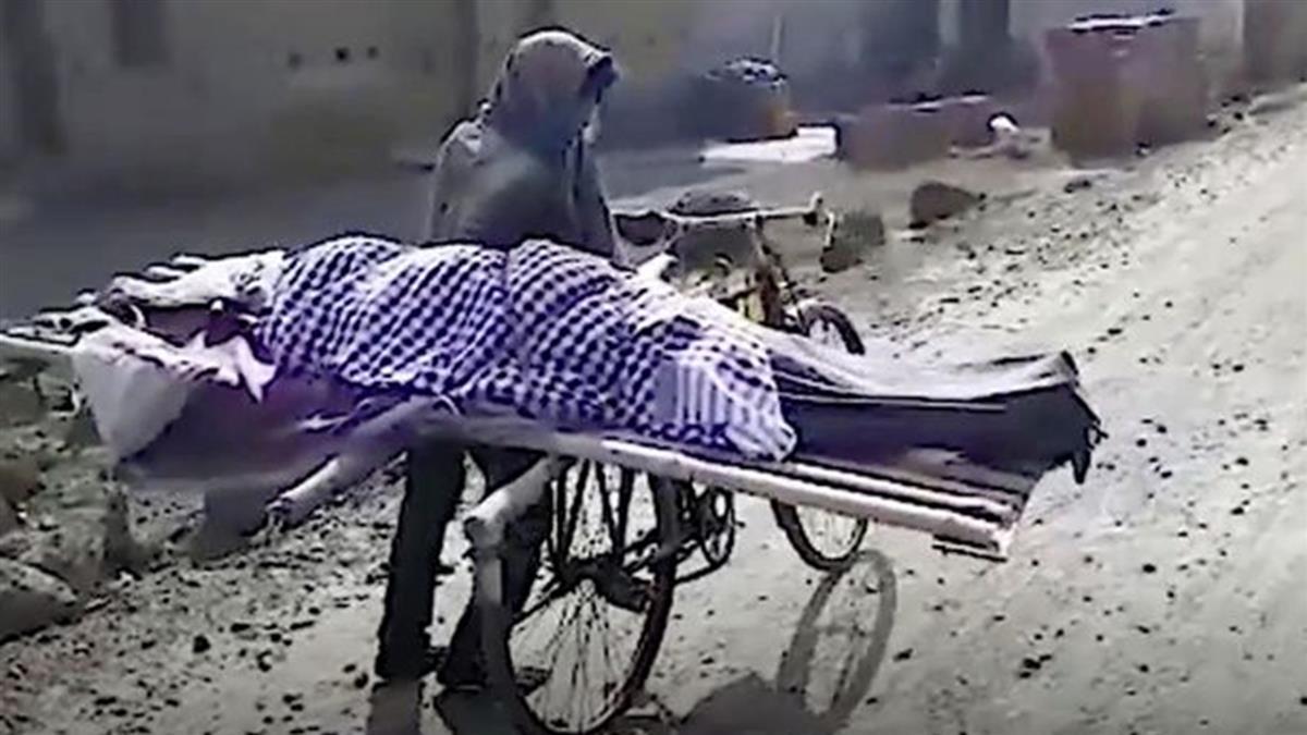 鄰居拒幫忙!17歲孝子單車載母屍 赤腳走5公里挖洞埋葬