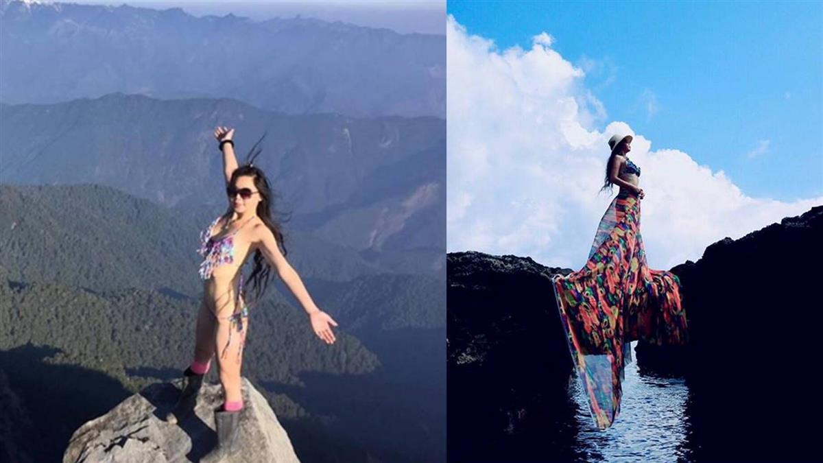 4年穿97套泳裝登百岳!「比基尼登山客」換裝秘密曝光