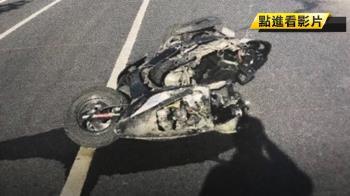 天人永隔! 大學情侶寒假遊台南雙載車禍 女死男重傷
