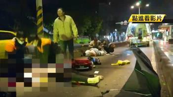 18歲情侶雙載 時速破一百!闖公車道自摔1死1傷