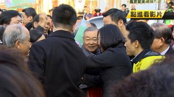 雙英對決! 蔡總統輔選何志偉 馬幫陳炳甫站台