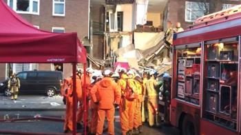 荷蘭海牙疑發生瓦斯氣爆 民宅半倒9人受傷