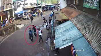 菲南教堂奪命爆炸案 軍方公布嫌犯引爆影片