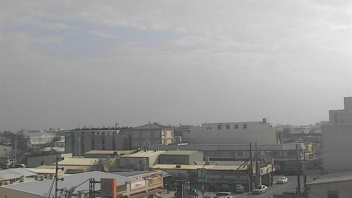 西半部空氣品質不良  中市府啟動二級應變