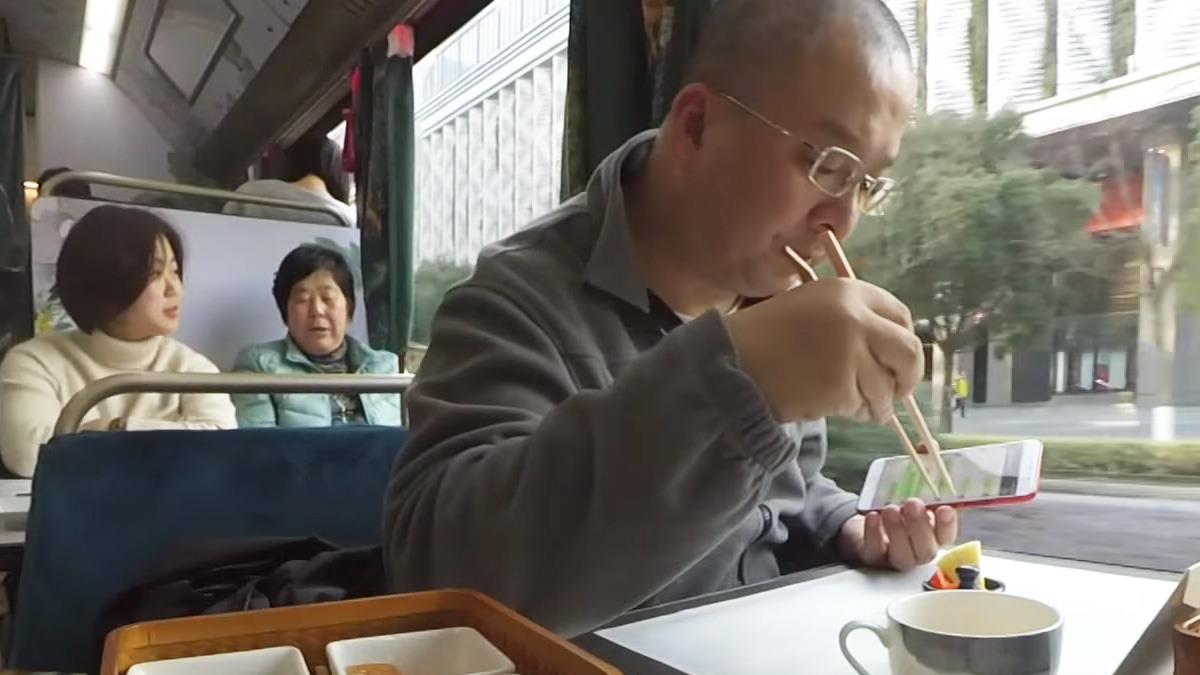 蘇州觀光巴士變「餐車」 美景美食一次滿足