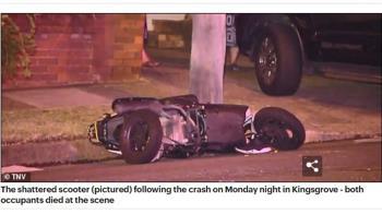 2台男喪命澳洲!送UberEats遭公車追撞…慘死街頭