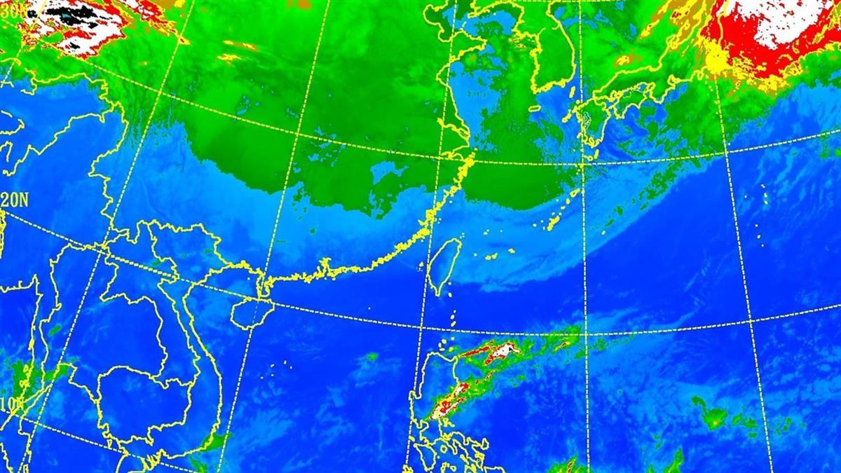 低溫狂掉10度!大陸冷氣團強度升級 本周有感濕冷