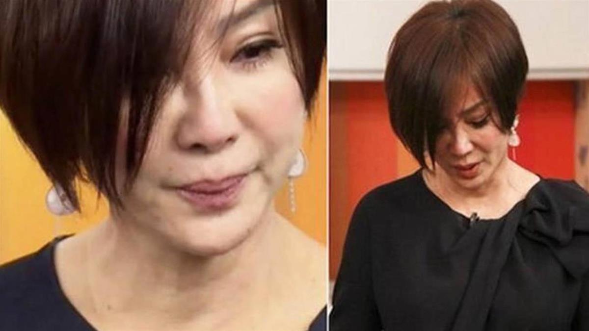 62歲陳美鳳健康亮紅燈!眼淚流不停 憔悴樣令人憂心