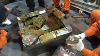 調查局破獲94公斤走私海洛因!市價估高達24億