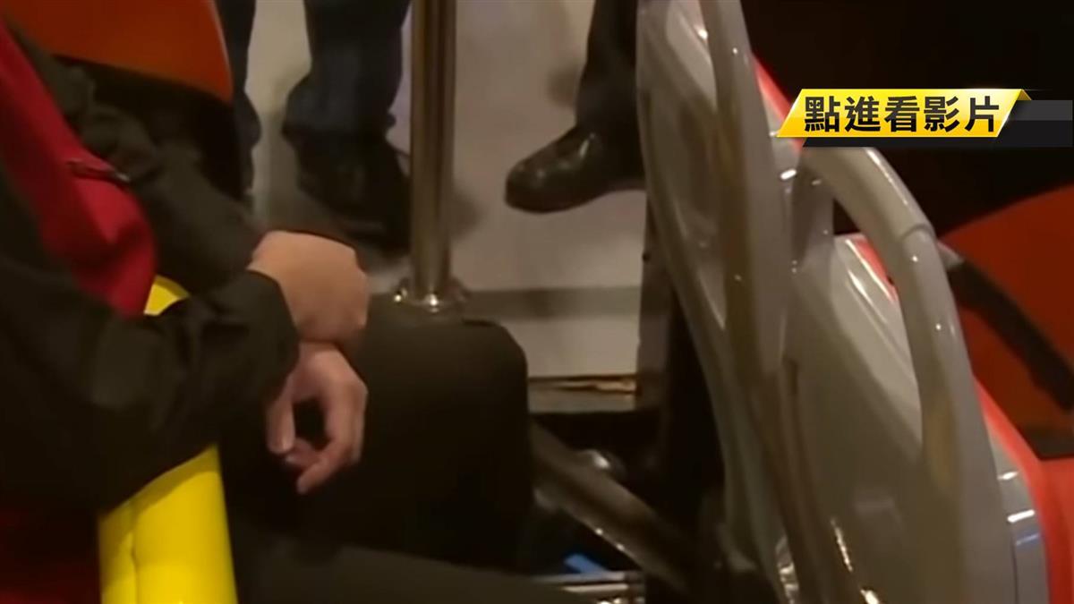 斷趾意外!月台縫隙僅3公分...少年硬伸腳釀禍
