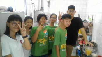 三義「溫馨廚房」 年輕志工服務中找到自信 !