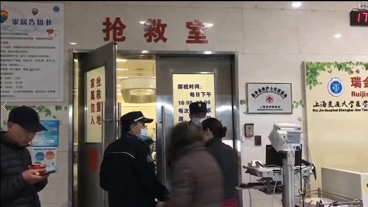 台旅行團遊上海 突遭轎車衝撞1死10傷