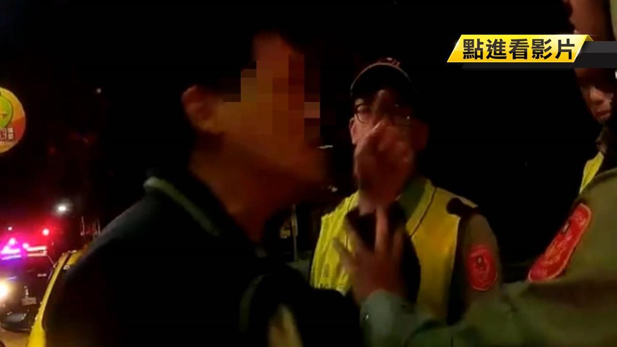 嫌計程車繞路不給錢 醉男嗆警:我是兄弟喔