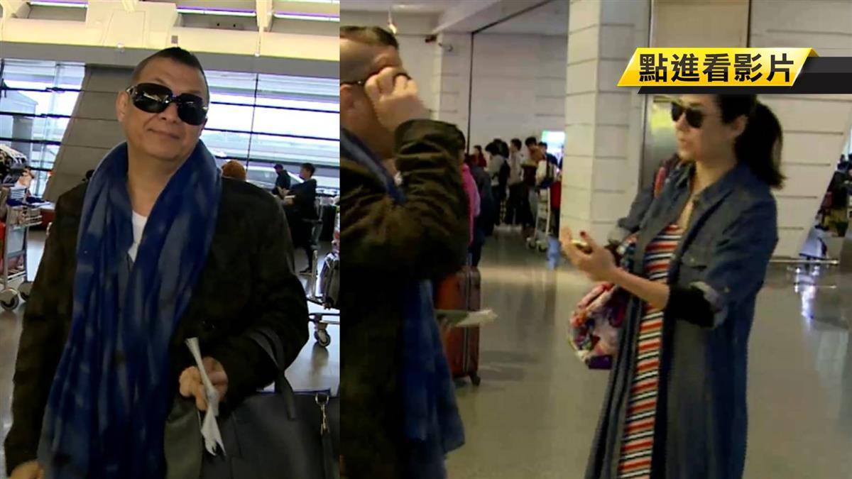 洪曉蕾、洪偉明出遊飛峇里島 慶幸航班起飛