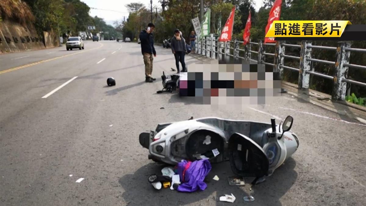 差5分鐘就回營區…22歲上兵疑超車 擦撞噴飛撞石柱亡