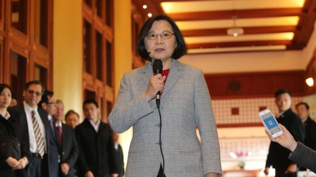 蔡總統:從不反對兩岸交流  爭議應坐下來談