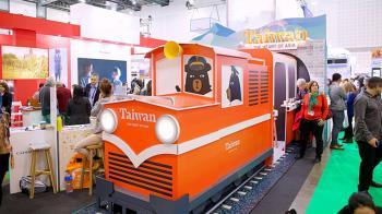 阿里山小火車駛進以色列  台灣館旅展超吸睛