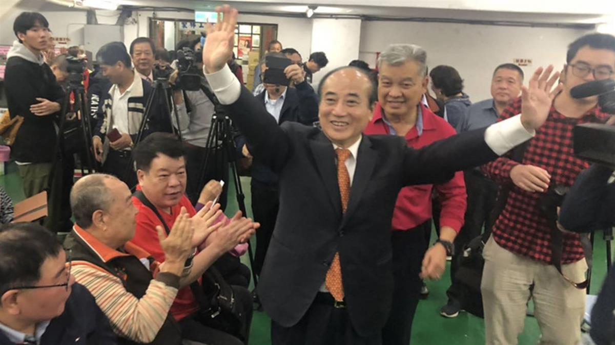 國民黨總統初選民調占7成 王金平:合理