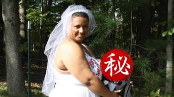 無法阻擋的愛!戀情長跑5年 21歲女婚禮圓夢嫁「喪屍」