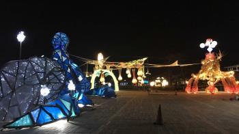 台灣燈會15日試營運 接駁服務載客進燈區