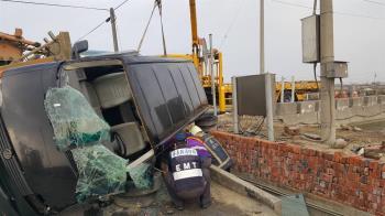 拖板車廂型車擦撞 嘉義車禍1死1傷