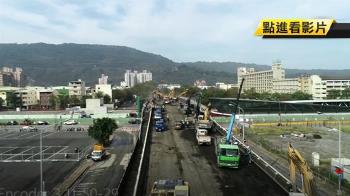 鐵路地下化後南北高雄合一 青海陸橋開拆