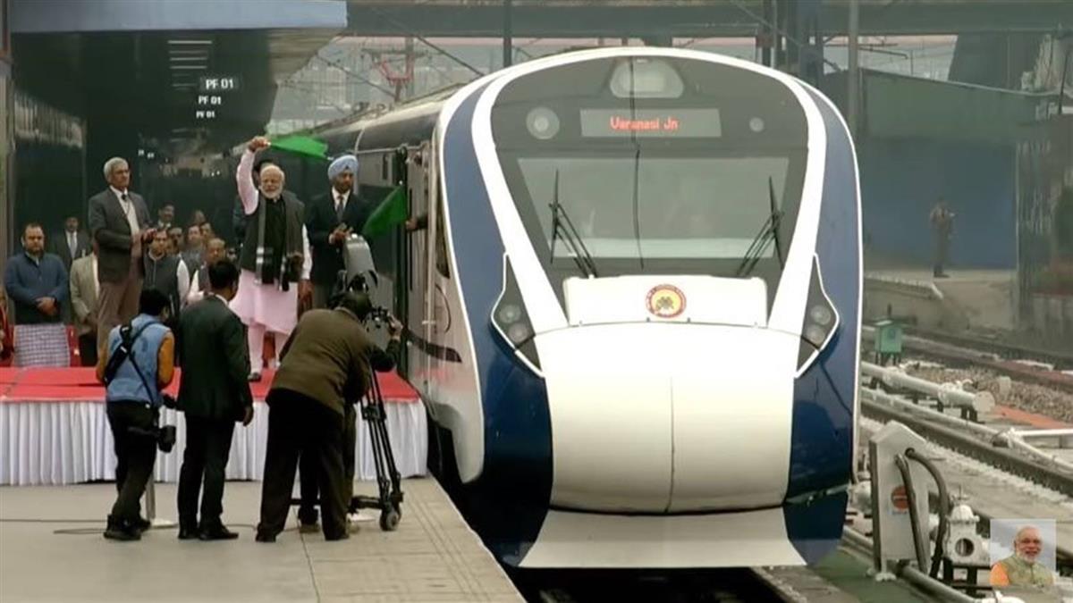 印度國產新高鐵首航 返程撞到牛故障