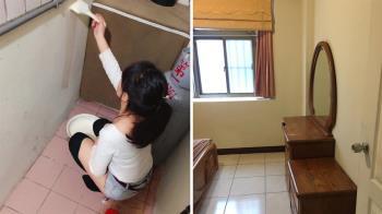 房子退租!正妹刷油漆被前夫嗆 網看對話:離婚是對的